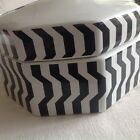 Missoni For Target Black White Zig Zag Ceramic  Canister  Stoneware  PERFECT**