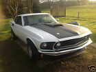 Ford Mustang fastback V8 in White fitted with a 5 speed manaul