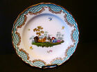 ANTIQUE MEISSEN HAND PAINTED PORCELAIN PLATE, HAND PAINTED,FABULOUS