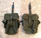 TWO Original Universal Ammo Pouches M1956 LCE Vietnam War ARMY USMC Small Arms