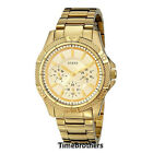 NEW GUESS WATCH for Women * Multi-Function Gold Tone Stainless Steel * U0235L5