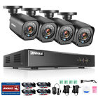 SANNCE 8CH 960H HDMI Security Audio Record DVR 700TVL Outdoor CCTV Camera System