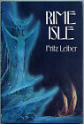Fiction RIME ISLE by Fritz Leiber 1977 Signed 1st Edition