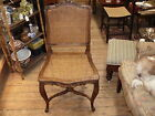 Vintage French Louis XVI Style Caned Side Chair