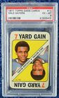 VERY RARE #10 Gale Sayers 1971 Topps Game Cards PSA Grade 6 EX - MT