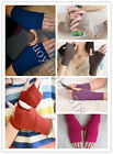 Ladies cashmere gloves half finger