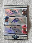 2008 Topps Co-SIgners Cameron Maybin Curtis Granderson Chris Young Triple Auto