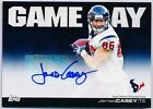 JAMES CASEY 2011 Topps Game Day Autograph AUTO Rookie Card RC