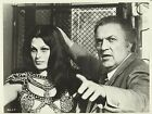 FIONA FLORENCE  FEDERICO FELLINI in Roma Original Vintage Photo 1972 RARE