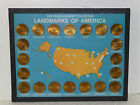 FRANKLIN MINT COLLECTION LANDMARKS OF AMERICA BRONZE COIN SET