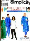 FAB PLUS SZ M DUFFY HOAX CAFTAN, TOP & PANTS Womens Sewing Pattern 8382 26 - 32W