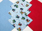 48 Baby Choo Choo Train Quilting Soft Snuggle Flannel Squares Quilt Quilter