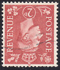 GB GVI 1950 2 2d Pale Red Brown Definitive Colour Change SG506Wi Fine Used