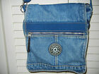 Sport Jeans Denim Crossbody/Hobo Style Purse