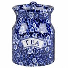 Calico Tea Storage Jar by Burleigh - Burgess & Leigh