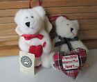Boyds Plush Ornaments-------Two Friends