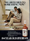 Vintage 1979 Jim Beam Kentucky Whisky print ad      Great to frame!