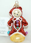 RET Radko PETITE GINGERBEAR Muffy Vander Bear Christmas Ornament 00-NAB-07