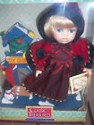 VTG CLASSIC TREASURES EDITION XMAS FINE BISQUE PORCELAIN DOLL NEW IN BOX