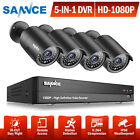 SANNCE 8CH 960H HDMI DVR Outdoor 800TVL IR Cut CCTV Video Security Camera System