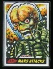 JEFF ZAPATA 2013 Topps Mars Attack IDW Limited Sketch Card