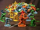 144 COWBOYS AND INDIANS plastic toy army men armymen figures