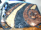 Vintage Sequin Purse Hand Made IN China 1940-50 New Holiday Purse