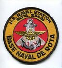 NAS Naval Air Station ROTA SPAIN AIR STATION USN NAVY SQUADRON BASE PATCH