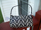 Authentic Coach F51262 Peyton Dream C Top Handle Pouch Handbag Purse Black White
