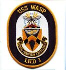 LHD-1 USS WASP US NAVY HELICOPTER AIRCRAFT CARRIER SHIP SQUADRON PATCH