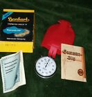 Vintage Hanhart 11 jewel Stopwatch  Made In Germany With Box/Papers Mint NOS