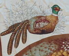 RING NECK PHEASANT, MATERIAL AND INSTRUCTIONS, VIP SCREEN PRINT, CRANSTON