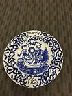 Royal Crownford Staffordshire Plate - 1983 A Happy Holiday To You By Norma Sherm