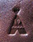 Discontinued Craftool USA Native American Symbol Full Handle Stamp S-8 Tipi