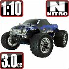 RedCat Racing Volcano S30 RTR 4WD Nitro Monster Truck Blue/Silver