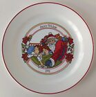 Corning Corelle Happy Holidays 1991 Collectors Plate Christmas Santa 10
