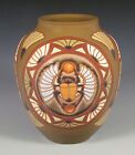 Common Ground Pottery Scarab vase, Eric Olson, art pottery, arts and crafts