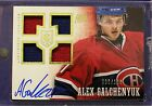 ALEX GALCHENYUK 2013 14 Prime RC Rookie Auto QUAD Jersey 96 199 CANADIENS