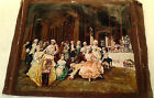 Original Oil Painting Canvas  VINTAGE ORGY PARTY