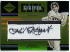 2004 Leaf Limited Cuts PHIL RIZZUTO Rare Gold Auto On-Patch SP # 10