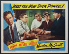 MURDER MY SWEET DICK POWELL MAZURKI AT BAR NOIR 1944 LOBBY CARD