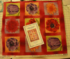 Cotton - Quilting - Moda - Bright & Beautiful, 2 1/2 yds PLUS PATTERN!