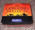Disney Lion King Series 2 (Skybox 1994) With Origanal Box 32 MIP Card Packs