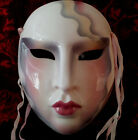 Vintage Clay Art About Face  Ceramic Mask