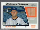 DEREK JETER - 2015 TOPPS HERITAGE CLUBHOUSE COLLECTION BAT RELIC