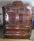 18'th Century Dutch Display Inlaid Cabinet