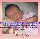 REBORN DOLL KIT MARLY JO BY ELISA MARX VINYL KIT