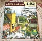 Susan Brabeau PADDLEBOAT LANDING Boats 550 Piece Jigsaw Puzzle Karmin New Sealed