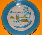 DIAMOND HEAD, HAWAII Bread Plate Vintage Air Brushed by Jackson Custom China
