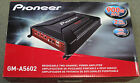 NEW Pioneer GM-A5602 450W RMS 2-Channel Class AB Bridgeable Car Audio Amplifier